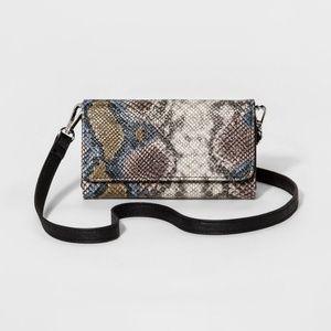 Handbags - Faux Snake Skin Wallet/Small Purse